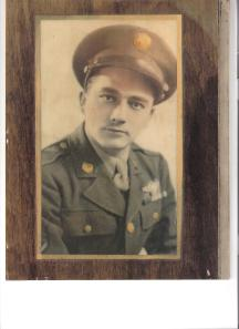 Dad WWII Portrait Military Uniform 001