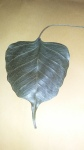 bodhi leaf from Michael's 106 bows ceremony of passing