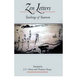 pic Zen letters Teaching of Yuanwu book