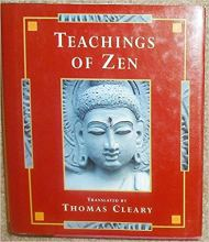 book cover Teachings of Zen Thomas Cleary